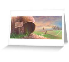 Vacant Greeting Card