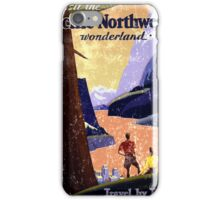 Pacific North West Vintage iPhone Case/Skin