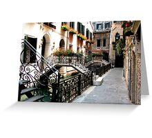 Venetian Jungle Greeting Card