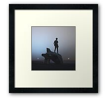 Spaceship Framed Print