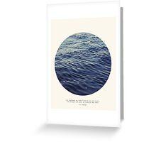 You or Me - Circle Print Series Greeting Card