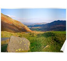 Wrynose Pass into Little Langdale  Poster