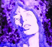 Mick Jagger Blues by George Hunter