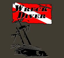 Shipwreck Diver Unisex T-Shirt