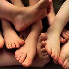 Toes Company, Feets A Crowd by PortisArt