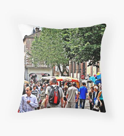 Once it was full of History! NOW!!!!!!!!!!!!! Throw Pillow