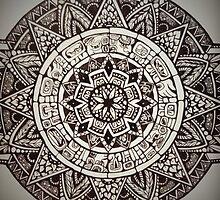 Aztec Wheel by MarieBellinger