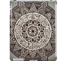 Aztec Wheel iPad Case/Skin