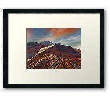 Eleganz01: High Cliffs Approach Framed Print