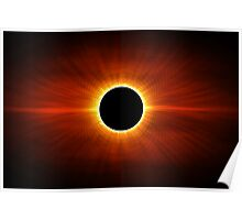 Sun Eclipse Poster