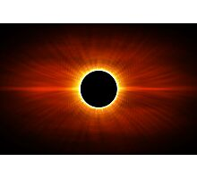 Sun Eclipse Photographic Print