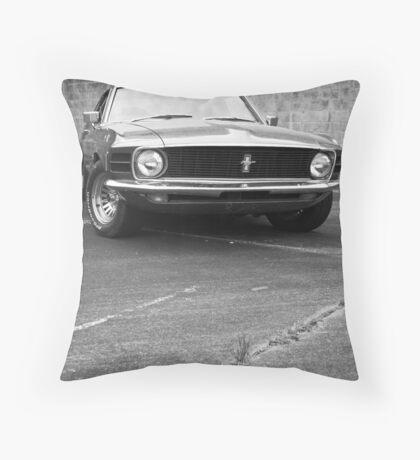 1970 Mustang Throw Pillow