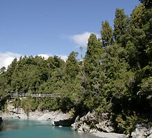 Hokitika Gorge by David Gallagher