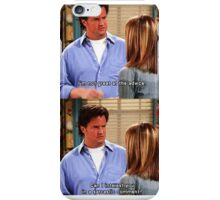 Chandler Bings Sarcasm - FRIENDS iPhone Case/Skin