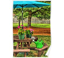 Spot-On Gardening Poster