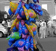 The Balloon Man by Greta  McLaughlin