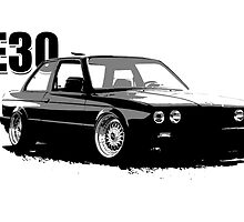 BMW E30  by concuido