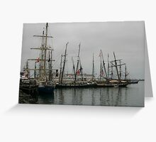 Festival of Sail Greeting Card