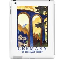 Black Forest Vintage iPad Case/Skin