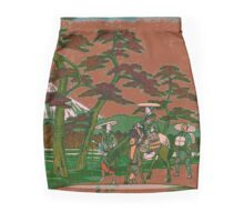 Walking with Royalty Mini Skirt
