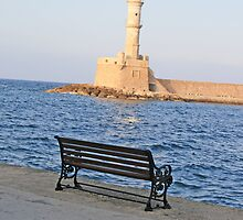 Chania Lighthouse by Hariet22