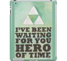 Hero of Time iPad Case/Skin