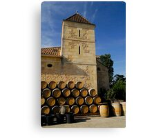 Chateau Cantinot Canvas Print