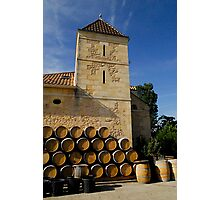 Chateau Cantinot Photographic Print