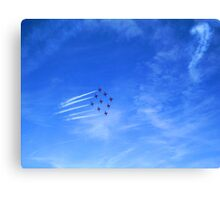Red Arrows? Canvas Print