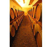Barrels of France's finest Photographic Print