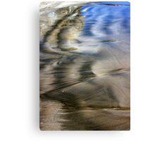 Two Tone Seashore Canvas Print