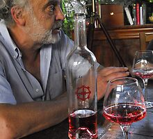 A Vintner and his wine by triciamary