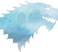 Winter is coming Stark Logo by eelagreen