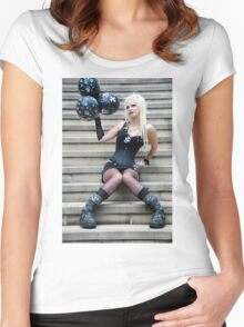 Pirate party Women's Fitted Scoop T-Shirt