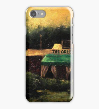 The Green Cafe iPhone Case/Skin