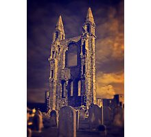 Graveyard Ruin Photographic Print