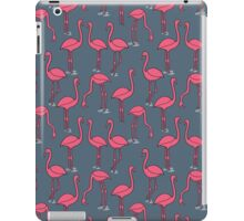 Flamingo -  Payne's Gray by Andrea Lauren iPad Case/Skin