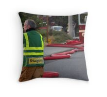 Staging Crew Throw Pillow
