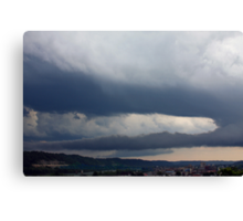 *SEVERE THUNDERSTORMS* Canvas Print