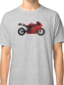 Pixel Ducati Motorbike Thing Classic T-Shirt