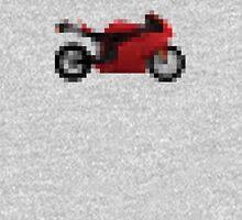 Pixel Ducati Motorbike Thing Unisex T-Shirt