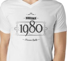 Since 1980 Mens V-Neck T-Shirt
