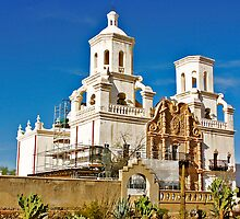 The Cathedral of San Xavier by David DeWitt