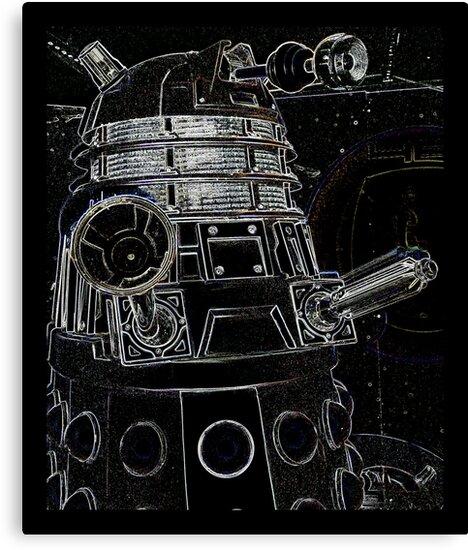 Black Dalek by Susan  Bloss