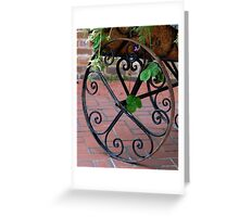 Spiral Hearts Greeting Card