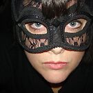 Masked Woman by Anthea  Slade