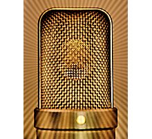 Vocal effect Photographic Print