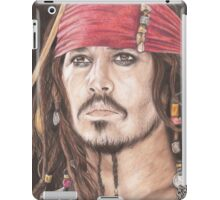 Captain Jack Sparrow iPad Case/Skin