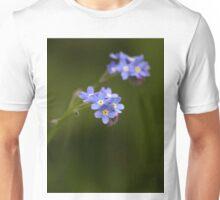 Wood forget me not (Myosotis sylvatica) Unisex T-Shirt