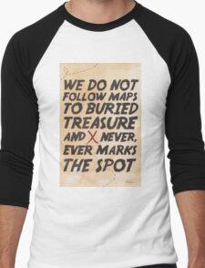 We Do Not Follow Maps Men's Baseball ¾ T-Shirt
